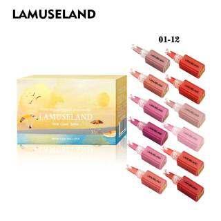12 Màu Sắc Dễ Thương Mini Velvet Độ Ẩm Lip Gloss LA0005-07 thumbnail