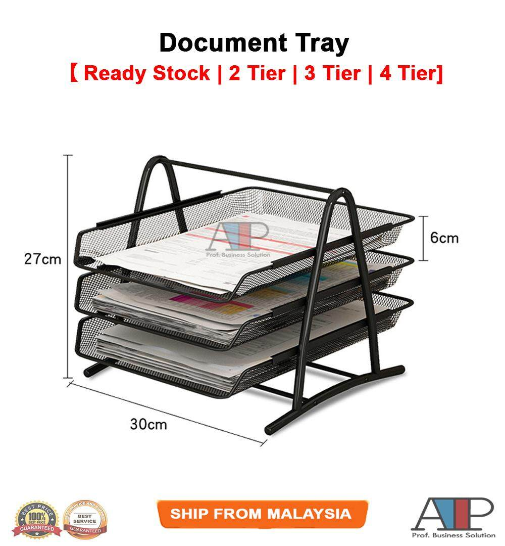 File Document Letter Paper Tray Sorter Collection File Desk Organizer Rack By Atp Professional Business Solution.