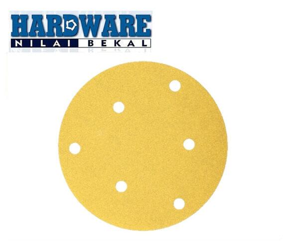 BOSCH C411 Velcro Sanding Disc Sand Paper 6 Holes 1 box 50pcs&100/box (125mm)