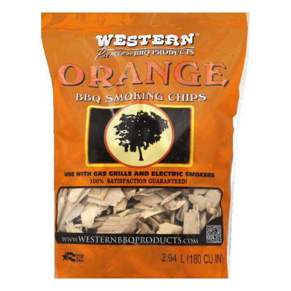 Wood Chips Western BBQ Products Orange Maple or Peach Chips