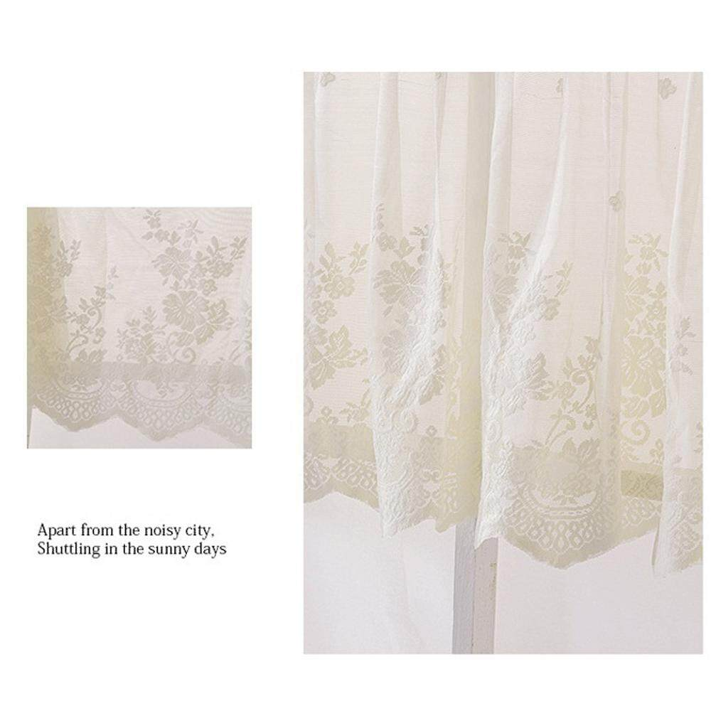 Simida Window Screen Sunshade Durable 1 Panel Lace Cafe Room Tier Curtain Window Curtain By Simida Limited.