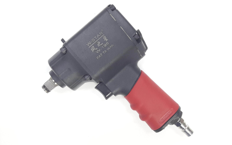 millionhardware -  W-star 1/2 Pneumatic Air Mini Impact Wrench (Twin Hammer)