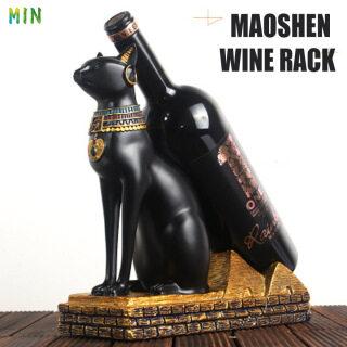 Tượng Giá Rượu Tối Thiểu Giá Đỡ Chai Hình Mèo Ai Cập Đồ Thủ Công Nhựa Bí Ẩn Ai Cập Cổ Đại, Cho Quán Bar Phòng Khách Gia Đình thumbnail