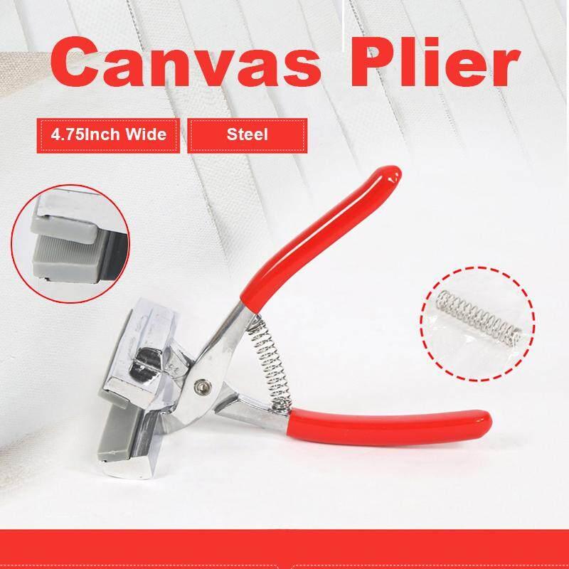 4.75 Spring Handle Wide Grip Picture Framing Canvas Plier Stretcher Art Paint