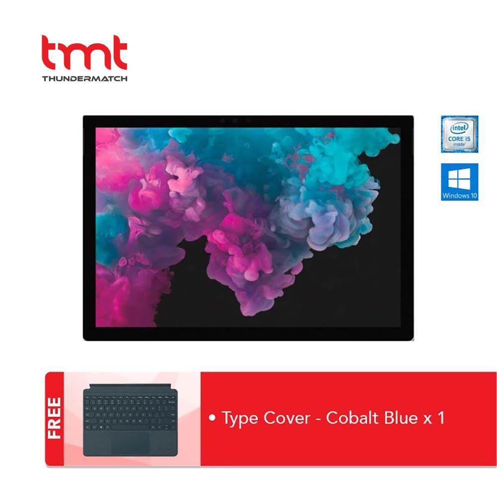 [Flash Sales] Microsoft Surface Pro 6 - I5-8250U | 8GB | 128GB + Type Cover Cobalt Blue Malaysia