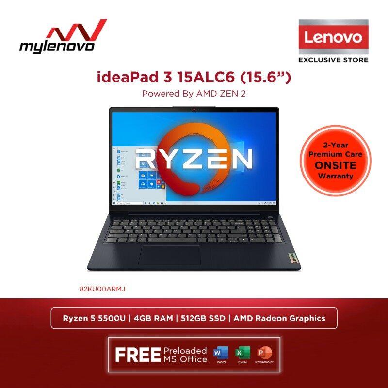 Lenovo ideaPad 3 15ALC6 AMD Ryzen 5 5500U 4GB 512GB SSD Malaysia