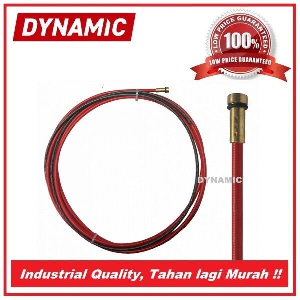 DYNAMIC MB15 Steel Liner 4.0 meter (0.6-0.9mm), MIG/MAG Welding Torch Liner MB15, 4.0 meter