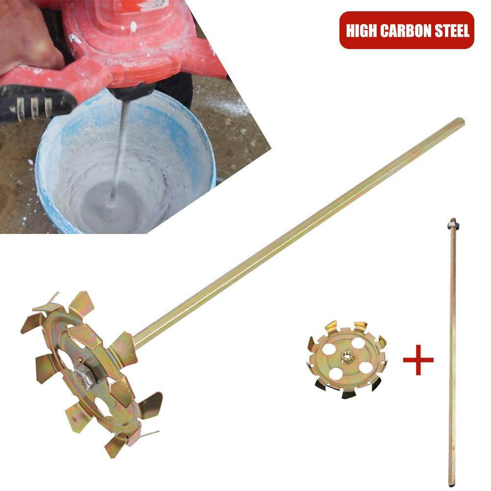 PER Electric Mixing Rod Electric Drill Paint Putty Split Type Mixer Cement Double Rod Stirring Rod Mortar Mixer Paint Mixer Drywall Mud Mixer