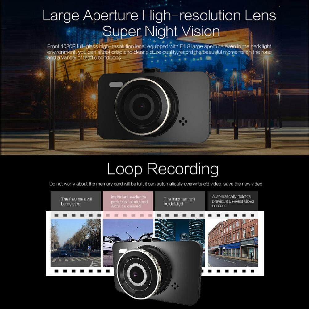 3.0 Inch Full HD 1080P DVR Xe Ô Tô Lái Xe Đầu Ghi Dash Cam Ghi Cảm Biến Cùng Giá Khuyến Mãi Hot