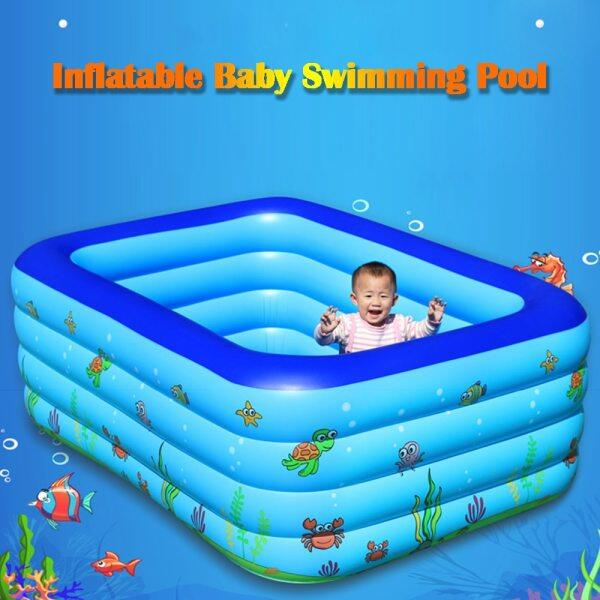Portable Swimming Pool Inflatable Baby Swimming Pool Accessories Outdoor Children Basin Kid Bathtub piscina hinchable
