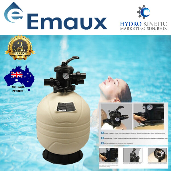 EMAUX MFV 20 TOP MOUNT PLASTIC SAND FILTER 20  - SWIMMING POOL FILTRATION