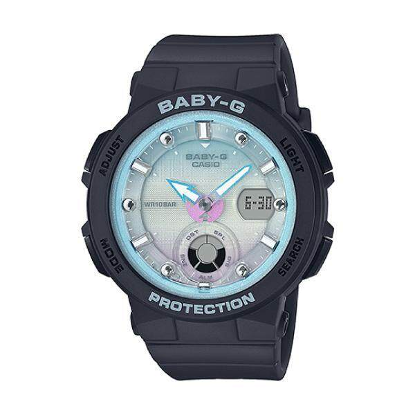 [BGA250]Casio Baby-G Beach Traveler Series Black Resin Band Watch BGA250-1A2 BGA-250-1A2 (jam tangan wanita / casio watch / casio watch women) Malaysia