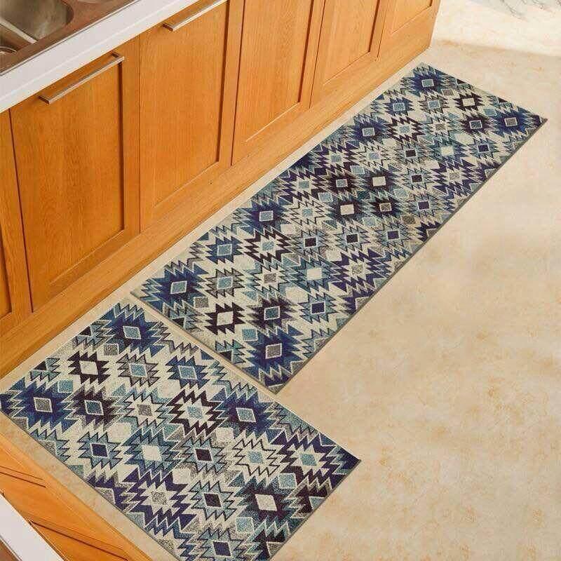 2pcs/set Kitchen Mat Carpet With Anti Slip By Sc Automation.