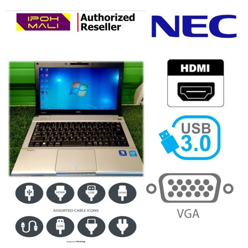 NEC VersaPro Intel(R) Dual Core 4GB 32GB SSD + 320GB HDD (Refurbished) Malaysia