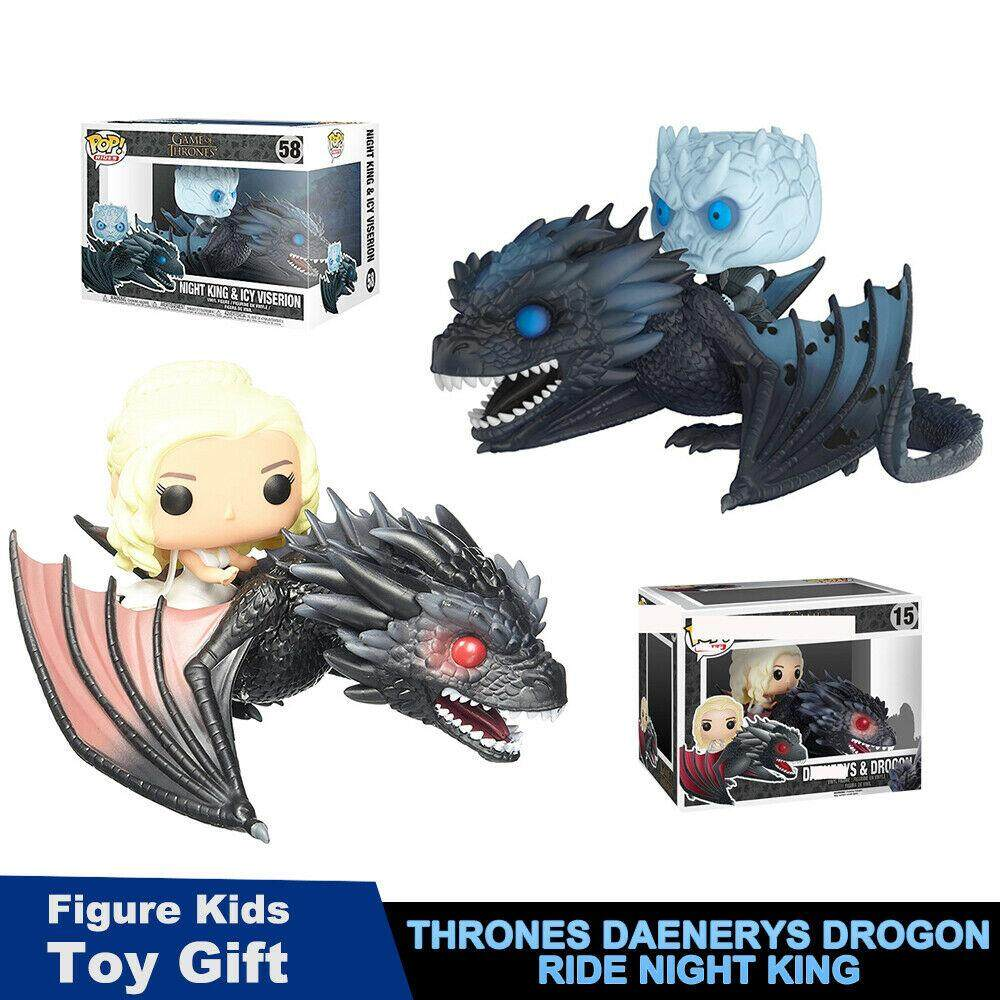 Good Service Funko Pop Game of Thrones Daenerys Drogon Ride Night King Toy