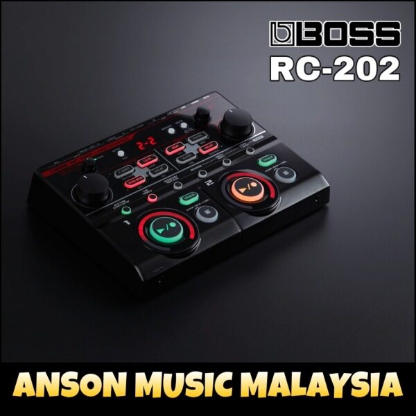 Boss RC-202 Loop Station Effect Pedal (RC202) Malaysia