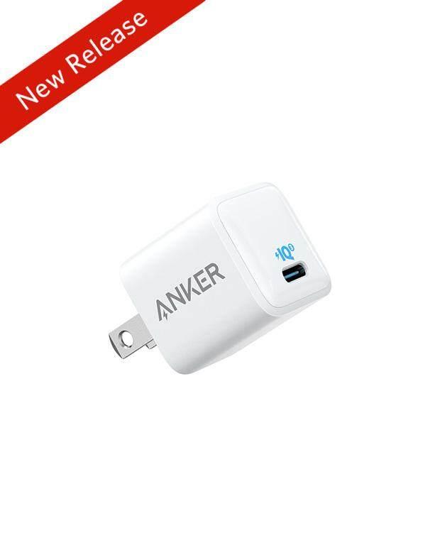 Anker 18W PowerIQ 3.0 Loại C Sạc Tường Cực Nhỏ Gọn Du Lịch Adapter Sạc, cho Iphone XR/Xs/Max/X/8/Plus, galaxy S10/S9/Plus, Điểm Ảnh 3A/3/XL, iPad Pro, Và Nhiều Hơn Nữa
