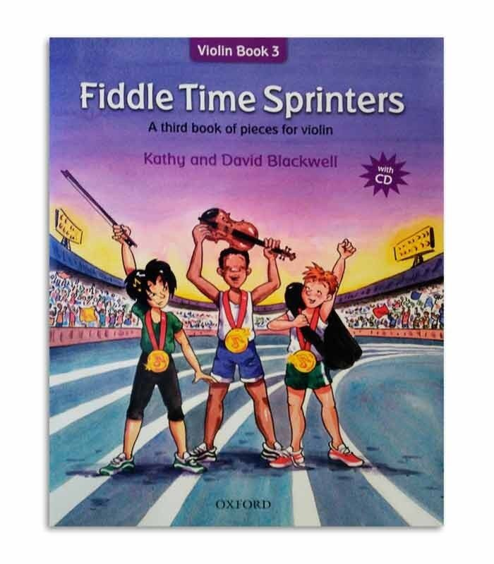 Fiddle Time Sprinters: A third book of pieces for violin (+ CD) Malaysia