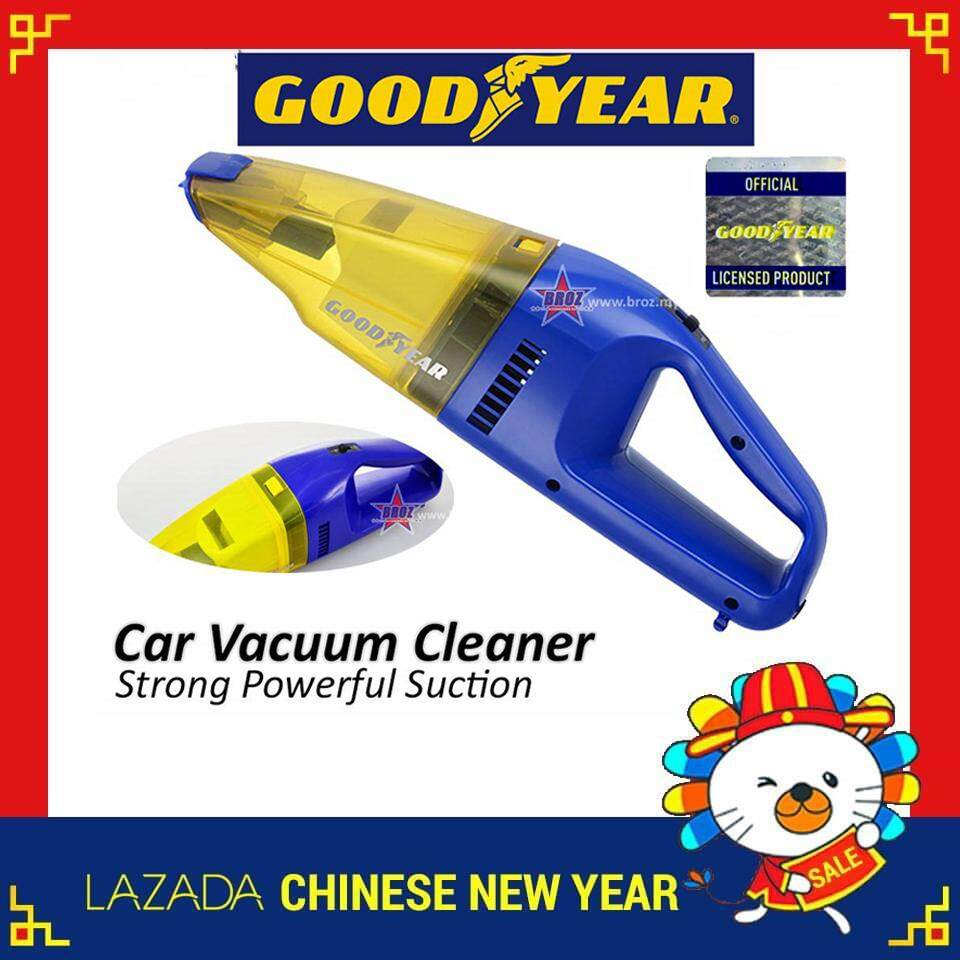 Broz Goodyear Gy-2003a Car Vacuum Cleaner By Broz Car Accessories.