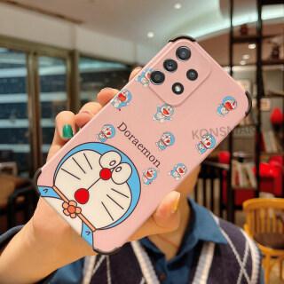 KONSMART Ốp Lưng Samsung Galaxy A72 A52s A52 A32 (5G) Ốp Lưng Điện Thoại Bảo Vệ Máy Ảnh Hoạt Hình Doreamon Cho Samsung Galaxy A72 A52 A32 (4G) thumbnail