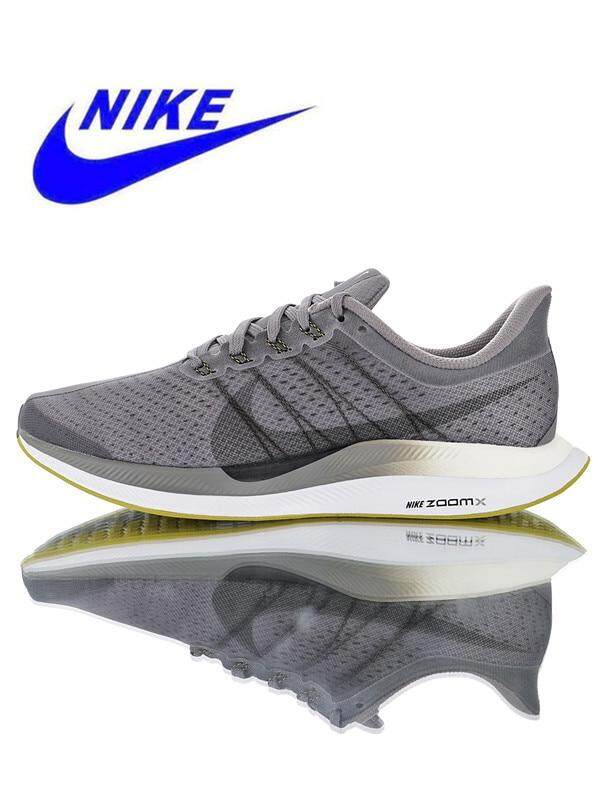 Nike_ Zoom Pegasus Turbo 35 Men's Running Shoes Sneakers Trainers Outdoor sports shoes Non-slip Grey