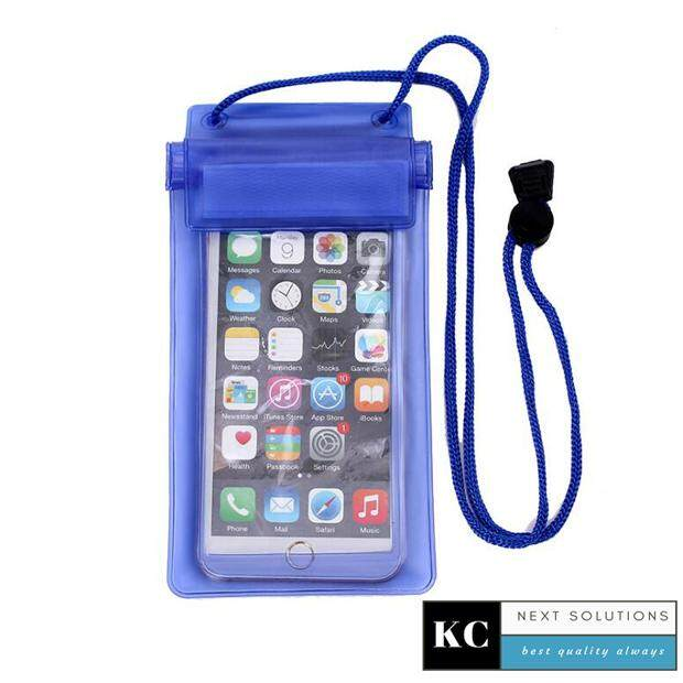 Universal Outdoor Waterproof Water Resistant 3 Layer Sealing Smart Phone  Pouch Bag Pocket Case Package For Diving Snorkeling Water Rafting