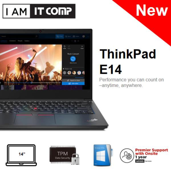 Lenovo ThinkPad E14 20RAS00800 14 FHD Commercial Laptop (i3-10110U/4GB/256G/INTEL/W10P) Malaysia