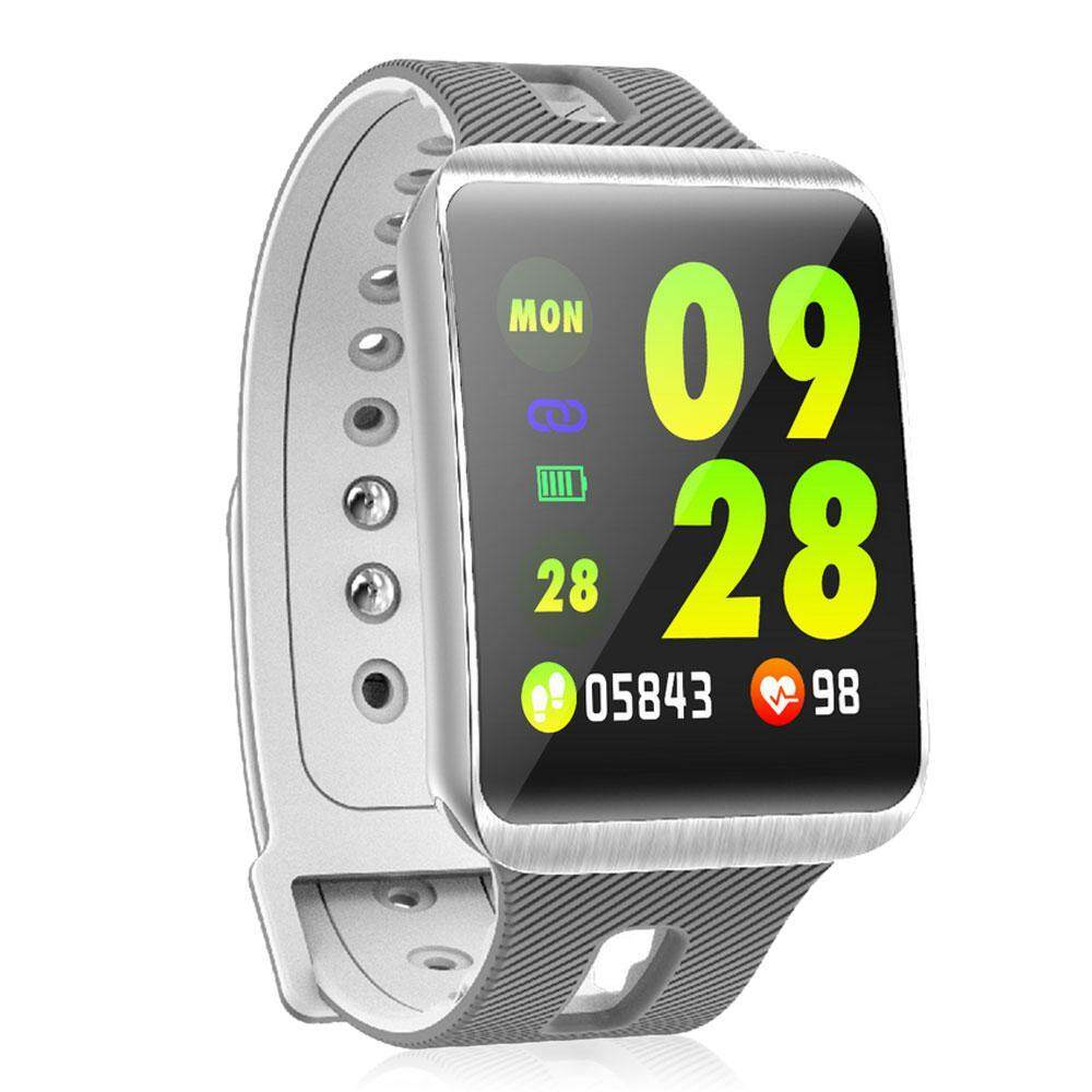 AirFairy GT98 Color Screen Metal Bluetooth Smart Bracelet,Fitness Tracker  Smart Sports Watch Compatible Android and iOS