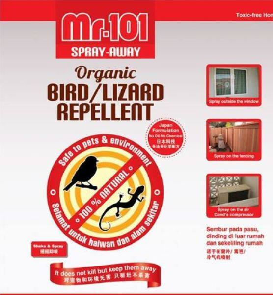 LIZARD / BIRD REPELLENT 1000ML (SPRAY AWAY / ORGANIC) MR.101 PENGUSIR CICAK, PENGHALAU CICAK, ANTI CICAK 驱壁虎剂/防鸟喷雾剂