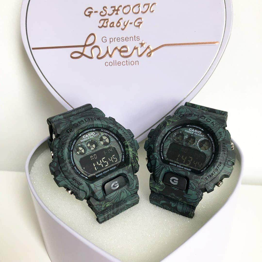 SPECIAL PROMOTION CASIO G_SHOCK_FLORA DIGITAL WATCH FOR COUPLES Malaysia