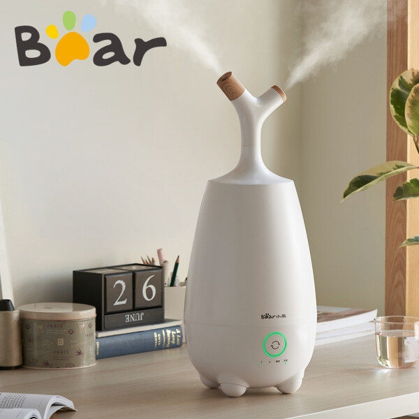 Bear Humidifier 5L Large Capacity Air Purifier Sleep Function Bedroom Living Room Available White JSQ-E50P1 Singapore