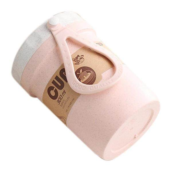 Bảng giá Creative Wheat Straw Breakfast Drink Porridge Cup Portable Breathable Sealed Soup Cans To Work Soup Cup Lunch Box Lunch Box Microwave Pink Điện máy Pico