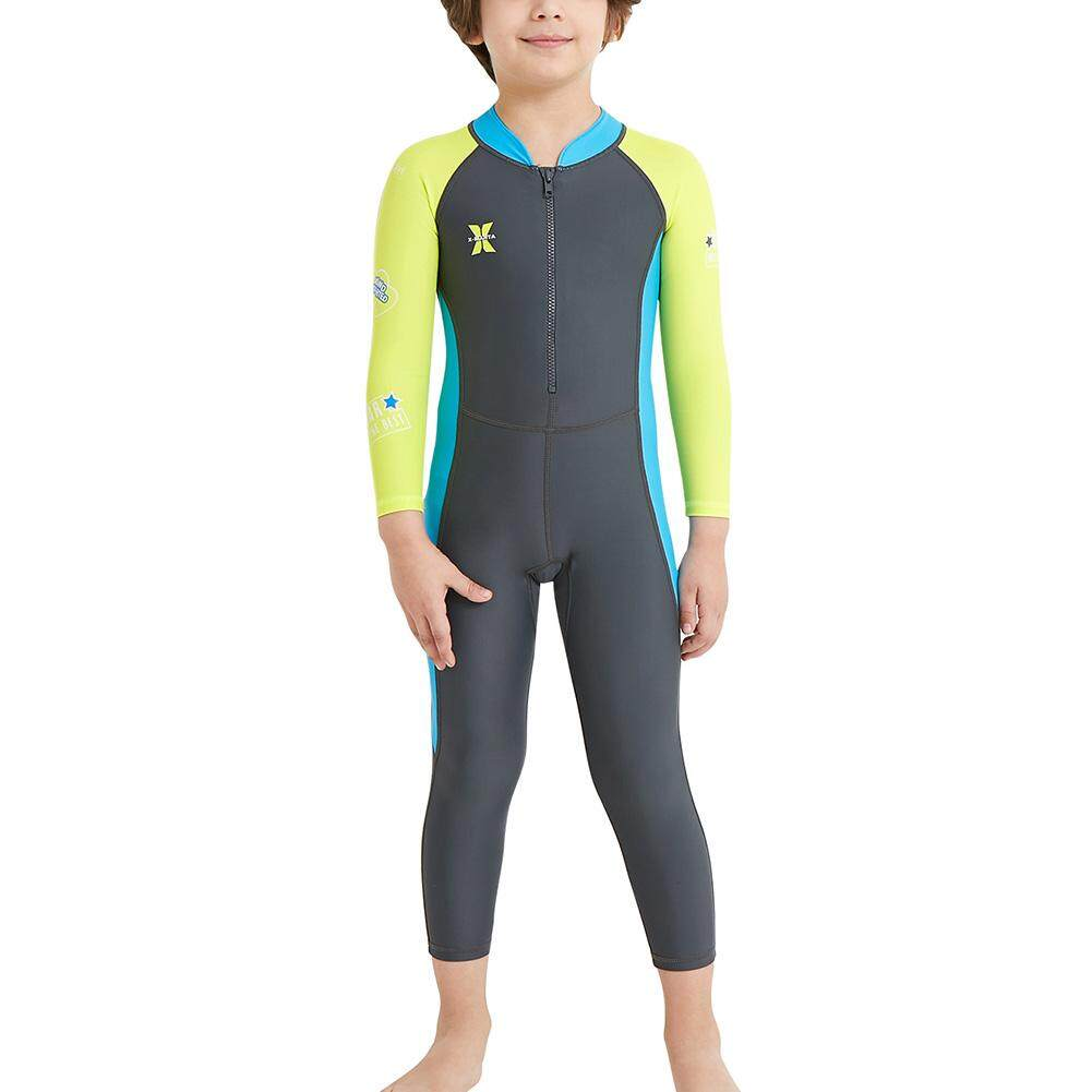 Boys Girls Wetsuit One Piece Swimsuit Uv Protection For Diving Swimming By Ysms Shop.