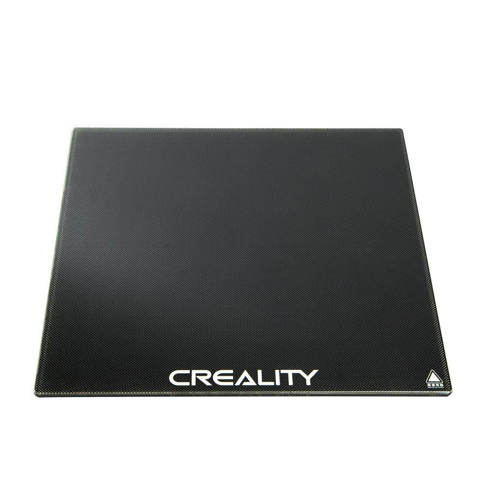 Creality Ender 3 Glass Bed, 3D Printer Glass Platform, Upgraded Hot Heated Bed Build Surface Tempered Glass Plate
