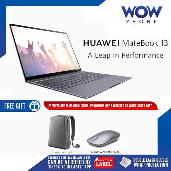 [Best Value!!] Huawei Matebook 13 Original Laptop [13  FULLVIEWDISPLAY, INTEL CORE i7] (8GB RAM / 512GB ROM) 2 Years Warranty by Huawei Malaysia!! Malaysia