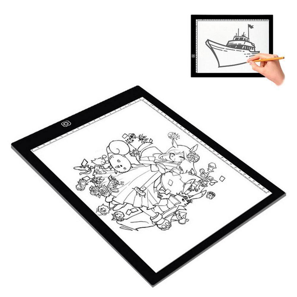 Honey Usb Led A4 Paper Copy Pad Desk Art Drawing Tracing Stencil Writing Board Digital Tablets Computer & Office