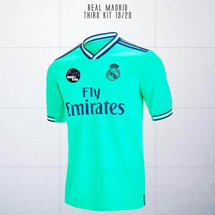 the latest 23c99 8f4f0 Real Madrid 3rd Third Kit 2019/2020