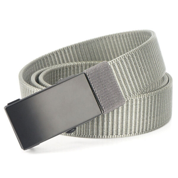 MEDYLA thắt lưng nam bằng vải có khóa tự động thắt lưng thiết kế thời trang đơn giản trẻ trung - INTL