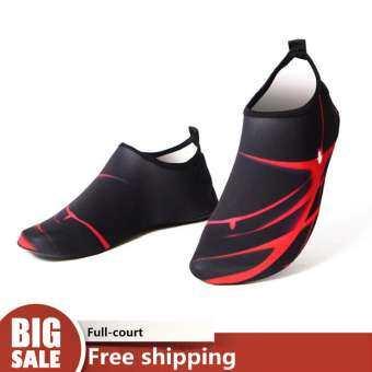 URBAN รองเท้าดำน้ำว่ายน้ำรองเท้ารองเท้าแตะชายหาดว่ายน้ำรองเท้าผู้ชายรองเท้าดำน้ำตีนกบดำน้ำรองเท้าลุยน้ำ Quick - drying รองเท้าแตะชายหาด Barefoot รองเท้า-
