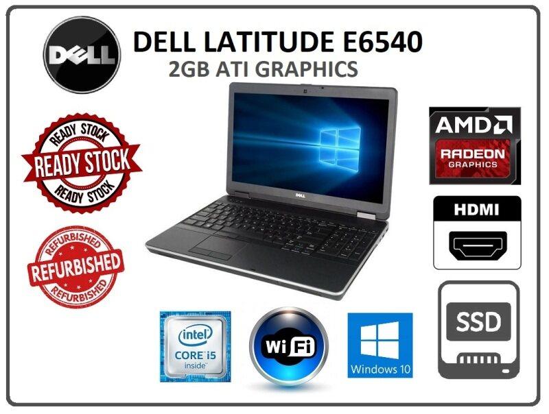 DELL LATITUDE E6540 WORKSTATION 2GB ATI GRAPHICS DDR5 Malaysia