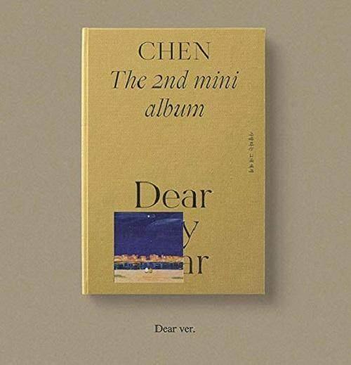 [SM] CHEN EXO - Dear My Dear [Dear ver.] 1 Album + 1 Folded Poster +Store gift Photocard - kpop