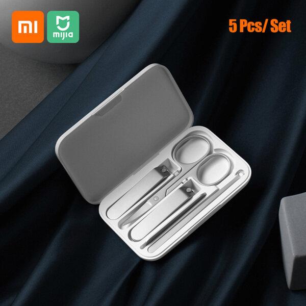 Xiaomi Bộ Cắt Móng Tay Mijia Tông Đơ Thép Không Gỉ Dụng Cụ Cắt Chăm Sóc Móng Chân Nút Tai Giũa Móng Tay Dụng Cụ Tông Đơ Làm Đẹp Chuyên Nghiệp