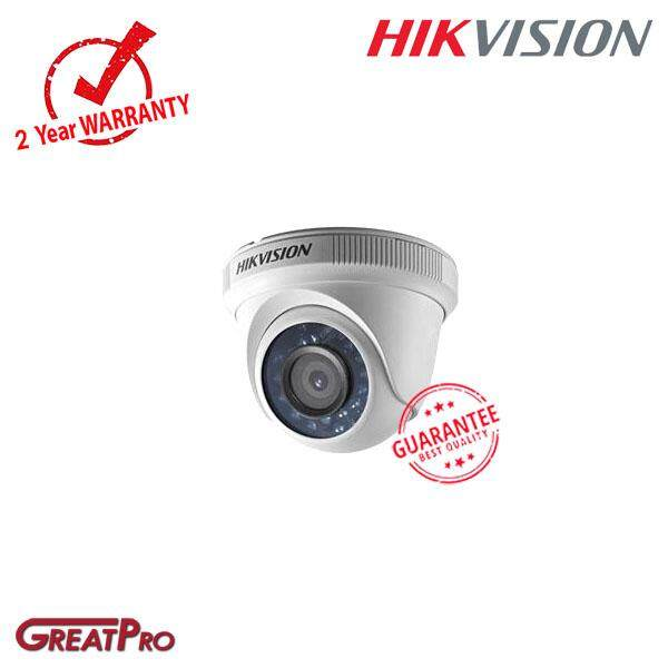 Hikvision 2mp Turbo Hd 1080p 4 In 1 Indoor Ir Dome Camera (ds-2ce56d0t-Ipf)-Greatpro By Greatpro Trading