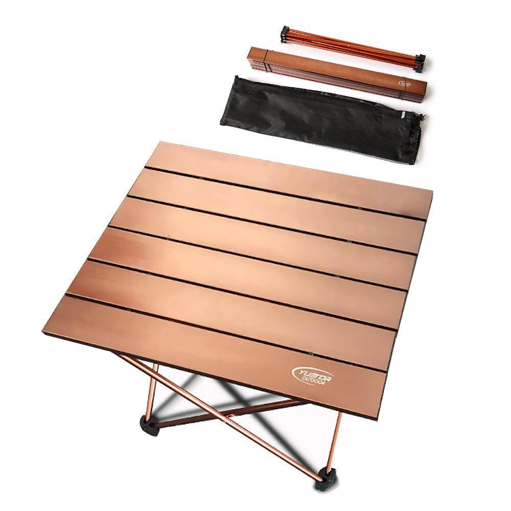 โต๊ะพับแบบพกพาอะลูมิเนียมอัลลอยเบาพิเศษกลางแจ้ง Camping โต๊ะปิกนิกโต๊ะ By Haitao.