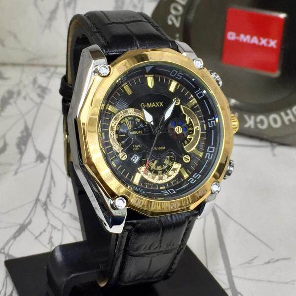 SPECIAL PROMOTION G MAX LEATHER STRAP ANALOGUE WATCH FOR MEN Malaysia