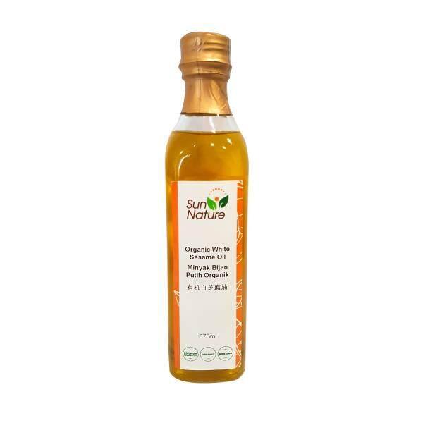 Organic Cold Pressed White Sesame Oil (375ML)