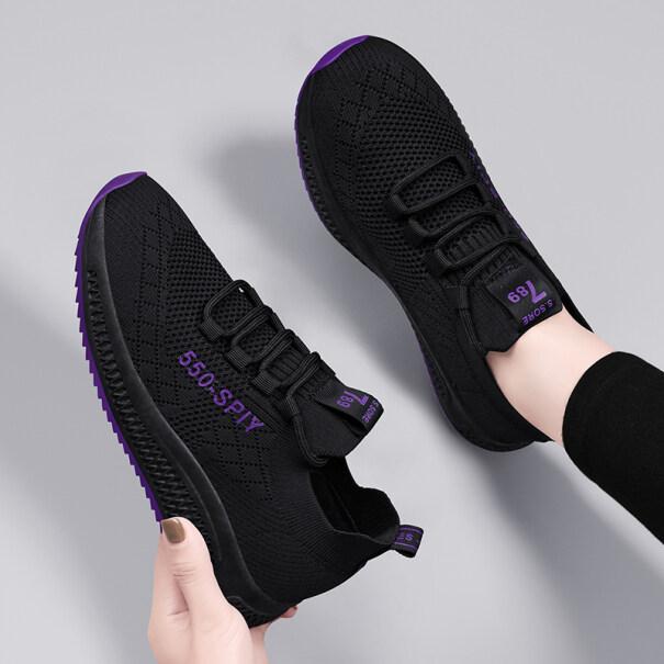 Cộng Với Đôi Giày Nhung Giày Thể Thao Chạy Bộ Cho Mẹ Đi Du Lịch Nhẹ Và Đế Mềm Phù Hợp Với Mọi Loại Mùa Thu Và Mùa Đông Mới 2020 Của Nữ giá rẻ
