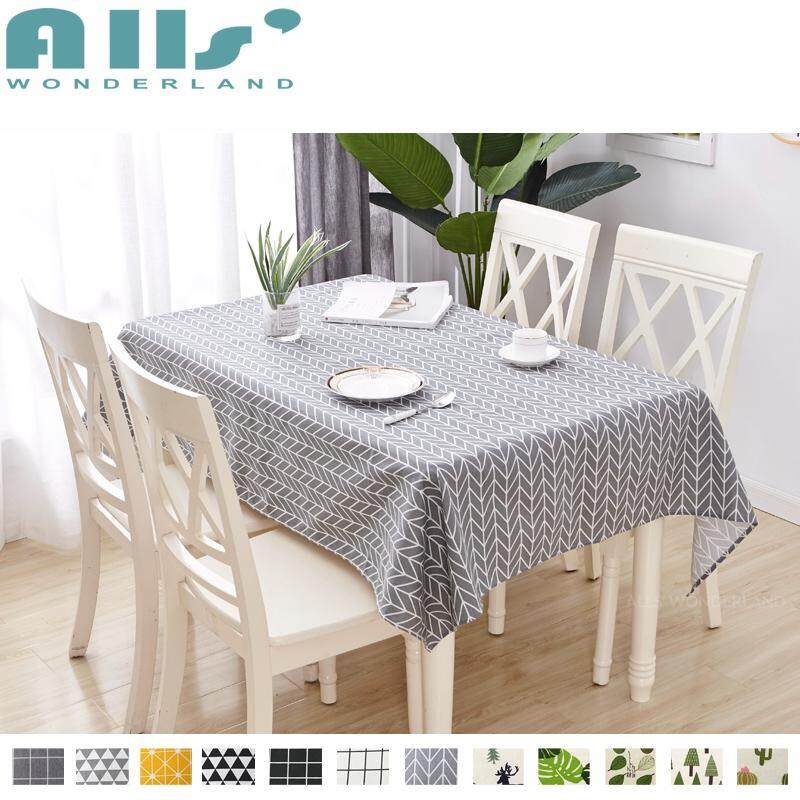 【Table Cloth】Cotton and Linen Table Cloth Dustproof Rectangle Table Cover Slip Resistant Simple  sc 1 st  Lazada.sg & Buy Tablecloths Kitchen | Table Linen | Lazada.sg