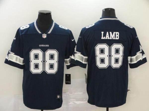 Đồng Phục Bóng Đá NFL Mới, Dallas COWBOYS Cowboy LAMB 2 88 Bộ Thêu DaiChuanQi