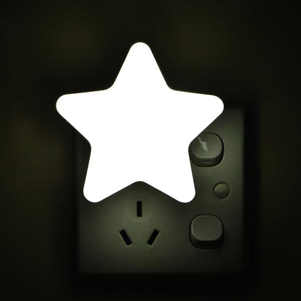 Bảng giá Đèn Ngủ LED Mini Hình Ngôi Sao Ánh Sáng Cảm Biến Điều Khiển EU/US Cắm Phòng Ngủ Đèn Ngủ Cho Cạnh Giường Ngủ Đèn Phòng Ngủ